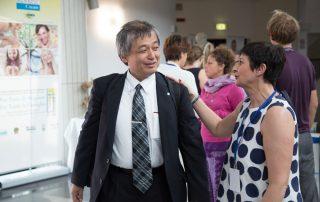Yasuyuki Nemoto e Catia Massari