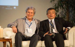 Il Dott. Massimo Citro con Nemoto