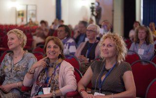 Il pubblico alla conferenza di Nemoto